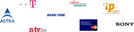 Referenzen, u.a. Telekom, n-tv, SONY